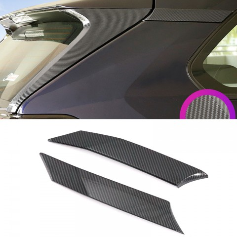 Free Shipping Rear Door Triangle Cover Trim For Toyota RAV4 2019 2020 2021