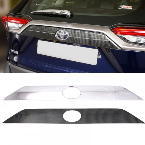 1Pcs ABS Stainless Steel Car Rear Door Tailgate Trunk Lid Protection Car Rear Bumper Guard Trunk Edge Trim Cover for Honda Odyssey 2018-2019-2020 Momoap