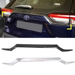 Free Shipping ABS Decoration Rear Trunk Streamer Tail Gate For Toyota RAV4 2019 2020