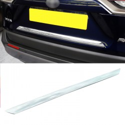 Free Shipping ABS Rear Door Trunk Lid Decoration Trim Cover For Toyota RAV4 2019 2020