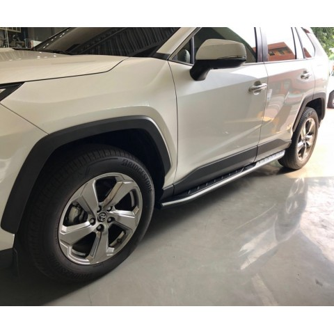 Side Step Running Board Nerf Bar Pedal For Toyota RAV4 2019 2020 2021