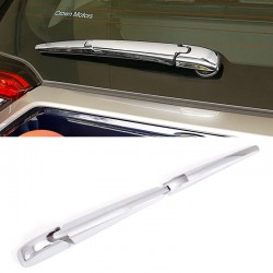 Free Shipping ABS Chrome Rear Window Wiper Nozzle Cover Trim For Toyota RAV4 2019 2020 2021