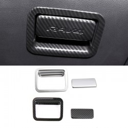 Free Shipping Interior Storage Box Handle Cover Trim For Toyota RAV4 2019 2020