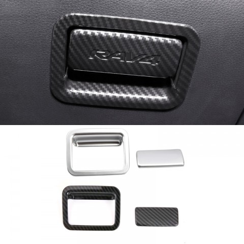 Free Shipping Interior Storage Box Handle Cover Trim For Toyota RAV4 2019 2020 2021