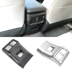 Free Shipping Carbon Style Outer Side Rear Armrest Box Air Vent Outlet Cover For Toyota RAV4 2019 2020 2021