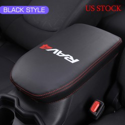 Free Shipping Center Console Lid Armrest Box Leather Cover For Toyota RAV4 2019 2020