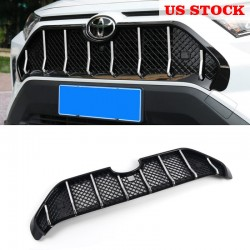 Ship to US only!!!Free Shipping Maserati Style Front Bumper Grille Cover Trim For Toyota RAV4 2019 2020 2021