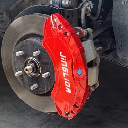 Not suitable for hybrid version!!!Free Shipping Red Style Front & Rear Brake Disc Caliper Covers 4pcs For Toyota RAV4 2019 2020 2021