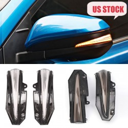 LED Side Mirror Sequential Dynamic Turn Signal Light For TOYOTA RAV4 2013-2018