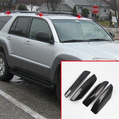 Free Shipping For Toyota 4Runner N210 2003-2009 Roof Rack Rail End Cover Shell Replacement