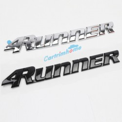 Free Shipping Trunk Chrome Rear Door Emblem Logo Nameplate For Toyota 4Runner