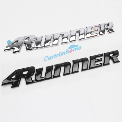 Free Shipping Trunk Chrome Rear Door Emblem Logo Nameplate For Toyota 4Runner