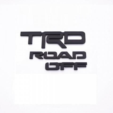 Toyota 4Runner 2set ABS TRD OFF Road Black Bundle Kit