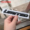Free Shipping ABS Matte Black Side Limited Emblem Badge Sign Replacement Kit A Pair For Toyota 4Runner
