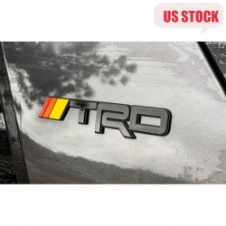 Free Shipping 1 pair ABS TRD Emblem For Toyota 4Runner 2010-2019