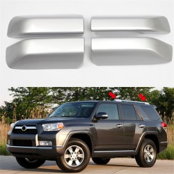 Free Shipping For Toyota 4Runner 2010-2018 Roof Rack Rail End Cover Shell Replacement Silver