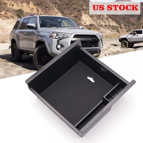 Free Shipping For Toyota 4Runner 2010-2021 Interior Black Storage Box Organizer Case