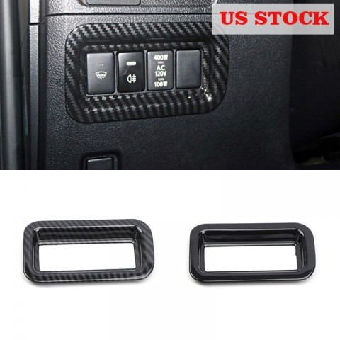 Free shipping Inner Console Lower Button Cover For Toyota 4Runner 2010-2021