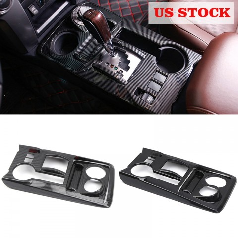 Free Shipping Gear Shift Box Panel Cover Trim For TOYOTA 4Runner SR5 / Limited 2010-2019