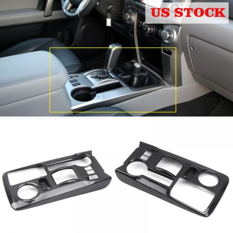 Free Shipping Gear Shift Box Panel Cover Trim For TOYOTA 4Runner TRD Off-Road / TRD Pro 2010-2019