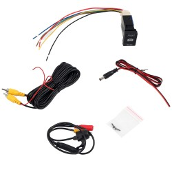 Free Shipping Camera & Switch Button For Toyota 4runner