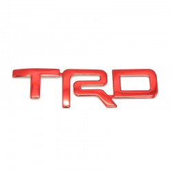 Free shipping 1Pair Seat headrest TRD Emblem For TOYOTA 4Runner