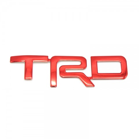 Free shipping 1Pair Seat headrest TRD Emblem For TOYOTA 4Runner