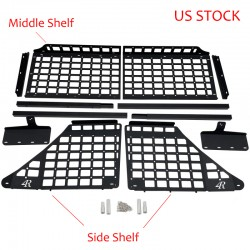 Ship Only To The U.S.!!!Free Shipping Black Style Hanging Boards Kit For TOYOTA 4RUNNER 2010-2021