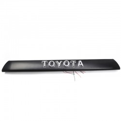 Free Shipping Front Bumper Grille TOYOTA Emblem LED Lights Logo Nameplate For Toyota 4Runner