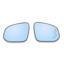 Free Shipping With LED Turn Signal Side Heated Mirror Glass Replacement For Toyota 4RUNNER 2014-2021