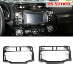 Free shipping Interior Console Navigation Cover Trim 1pcs For Toyota 4Runner 2014-2021