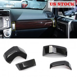 Free Shipping Co-Pilot Central Console Side Decorative Panel Cover Trim For TOYOTA 4Runner 2014-2019