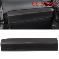 Free Shipping Wood Grain Co-Pilot Central Console Decorative Panel Cover Trim For TOYOTA 4Runner 2014-2021