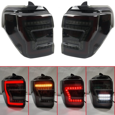 Free Shipping Plug and play Tail Lights Led Tail Lights Rear Lamp 2pcs For Toyota 4RUNNER 2014-2021