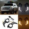 Not suitable for limited version!!!Free Shipping Fog Light Daytime Running Light DRL LED Day Light 2Pcs For Toyota 4runner 2014-2021