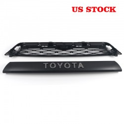 Not suitable for limited!!!Free Shipping 2Piece Front Bumper Grille Replacement For Toyota 4Runner 2020