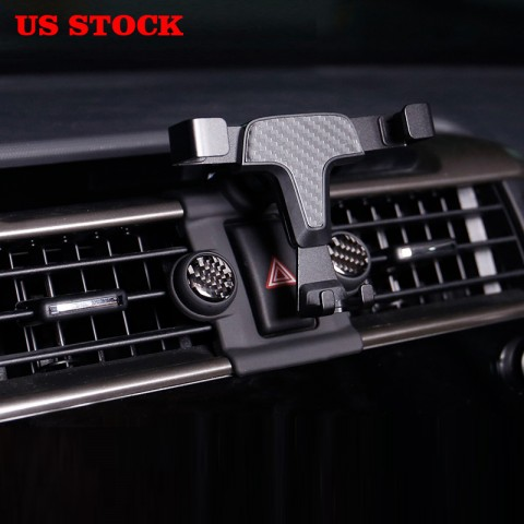 Free Shipping Smartphone Cell Phone Mount Holder with Adjustable Air Vent Clip Cover & Sticker Brake Light for Toyota 4runner 2010-2019