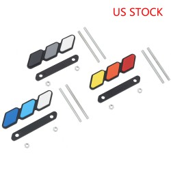 Free Shipping High quality For Toyota Tacoma 4Runner Tundra Toyota tri-color 3stripes Grille badge