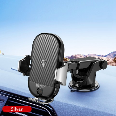 Free Shipping Car Qi Wireless Charger Fast Wireless Charging Car Phone Holder