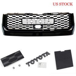 Ship to the Continental U.S. only!!!Free Shipping TRD PRO Front Bumper Grille Replacement For Toyota TUNDRA 2014-2020