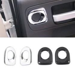 Free Shipping Door Speaker Cover Trim for Toyota Tundra Crewmax, Double Cab 2014-2021