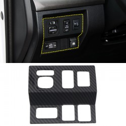 Free Shipping Carbon Style Interior Center Console Switch Cover Frame Decor Trim for Toyota Tundra Crewmax, Double Cab 2014-2021 LHD
