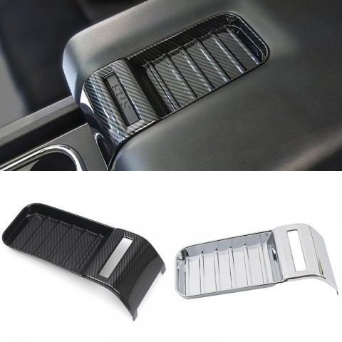 Free Shipping Interior Armrest Box Frame Cover Trim for Toyota Tundra Crewmax, Double Cab 2014-2021