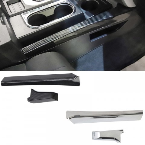 Free Shipping Gear Side Strip Decoration Cover Trim for Toyota Tundra Crewmax, Double Cab 2014-2021(Not Fit for RHD)