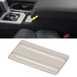 Free Shipping Interior Gear Console Front Decor Cover Trim Stainless Steel 1PC For Toyota Tundra 2014-2021