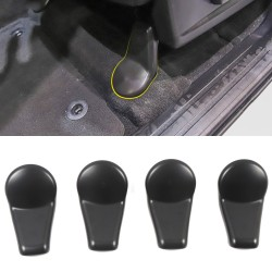 Free Shipping Anti-dust Seat Bracket Fixing Bolts Cover Trims Cap Set 4pcs for Toyota Tundra Crewmax, Double Cab 2014-2021