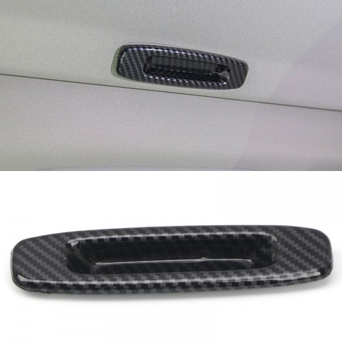 Free Shipping Carbon Style Car Interior Roof Handle Decoration Cover Trim for Toyota Tundra Crewmax, Double Cab 2014-2021