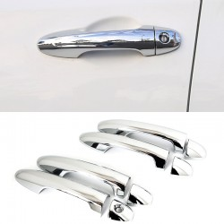 Free Shipping ABS Chrome Door Handle Cover Trim 8pcs For Toyota Tacoma 2016-2019
